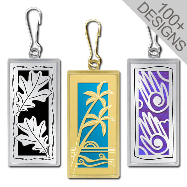 Personalized Zipper Pulls Handmade In 100s Of Cool Artistic Designs