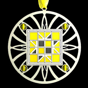 Yellow & Lemon Christmas Ornaments