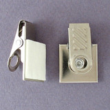 Name Badge Clips with Adhesive Pad