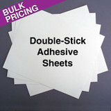 Double-Sided Adhesive Tape Paper Sheets - Clear