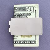 Satin Silver Money Clips