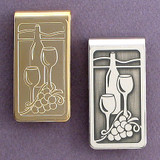 Wine Tasting Money Clip
