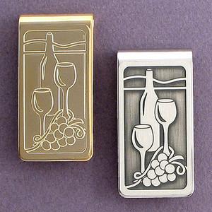Wine Tasting Money Clip