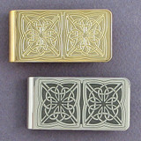 Irish Celtic Money Clip
