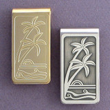 Palm Tree Money Clip