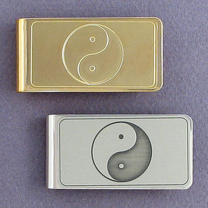 Yin Yang Money Clip