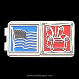 Labor Day Money Clips