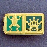 Frog Prince Money Clips