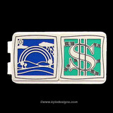 End of the Rainbow Money Clips