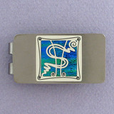 Dollar Sign Money Clips - Gunmetal