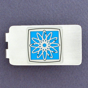 Radiographer Money Clip - Silver