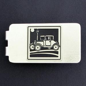 Antique Car Money Clip - Silver