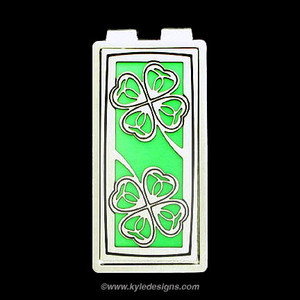 Four Leaf Clover Money Clips