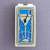 Martini Glass Money Clip