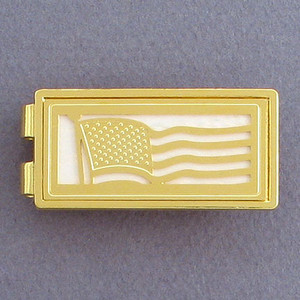 American Flag Money Clip