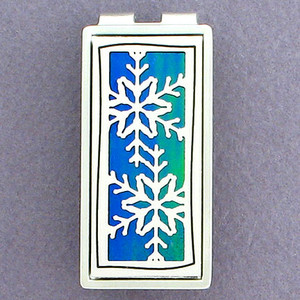 Snowflake Money Clips