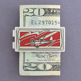 Airplane Pilot Money Clips