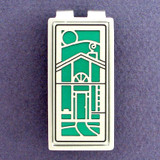 Living Green House Money Clips