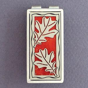 Oak Leaf Money Clips