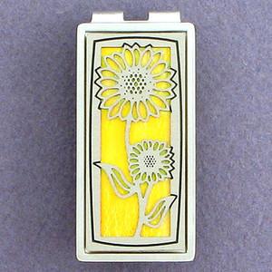 Sunflower Money Clip