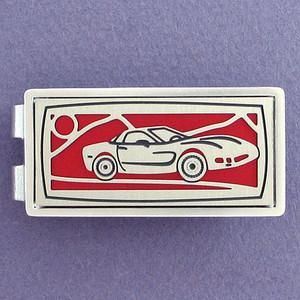 Sports Car Money Clip
