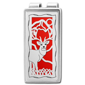 Deer Hunter Money Clip