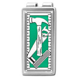 Construction Tools Money Clip