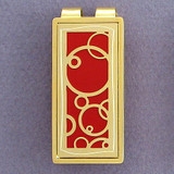 Abstract Circle Money Clip