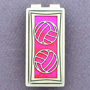 Volleyball Money Clips