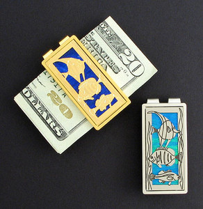 Tropical Fish Money Clips