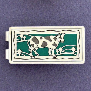 Holstein Cow Money Clips