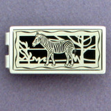 Zebra Money Clips