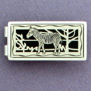 Zebra Money Clips