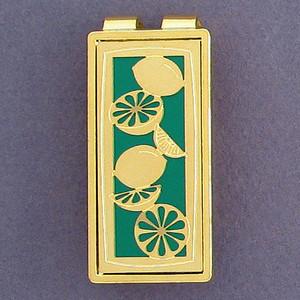 Lemon Lime Money Clips