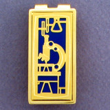 Scientific Microscope Money Clips