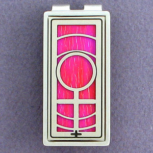 Female Sign Money Clip