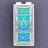 Water Drop Money Clips