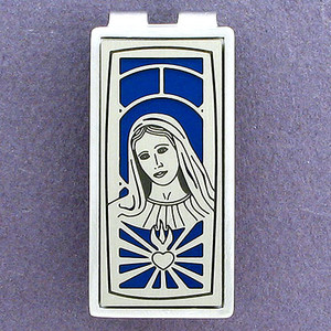 Virgin Mary Money Clips
