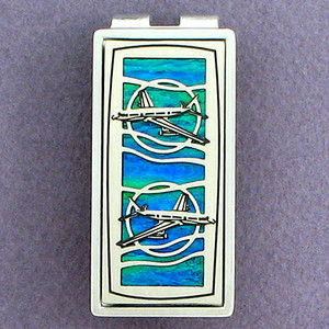 Airliner Money Clips