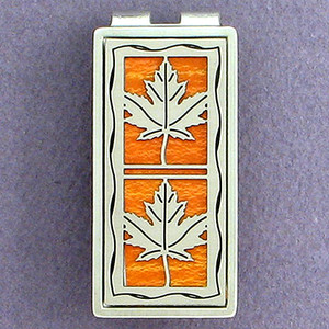 Maple Leaves Money Clips
