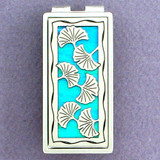 Ginkgo Leaf Money Clips