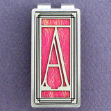 Monogram Letter A Money Clips