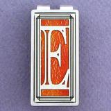 Monogrammed Letter E Money Clip