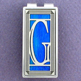 Monogrammed Letter G Money Clips