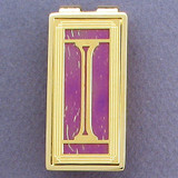 Monogram Initial I Money Clips
