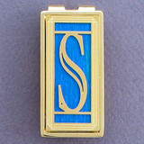 Monogram Letter S Money Clips