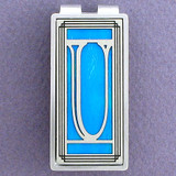 Monogram Initial U Money Clips