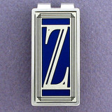 Monogram Z Money Clips