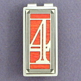 Lucky #4 Money Clip