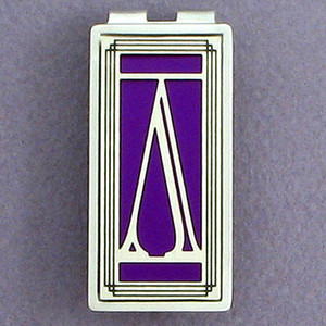 Greek Lambda Money Clips